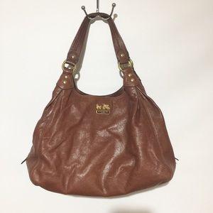 Authentic Coach Madison Leather Maggie Handbag